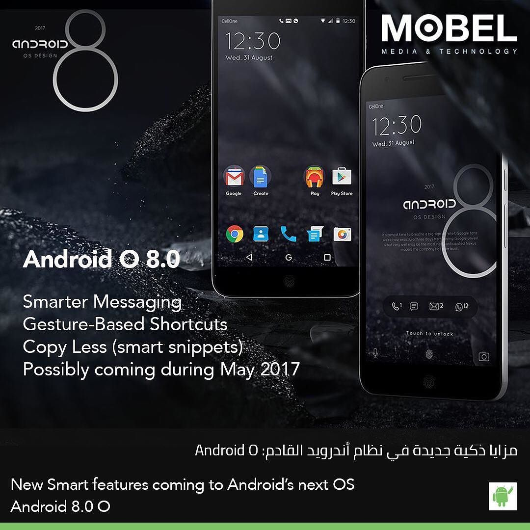 New Smart Features Coming To Androids Next Os Android 8 0 O