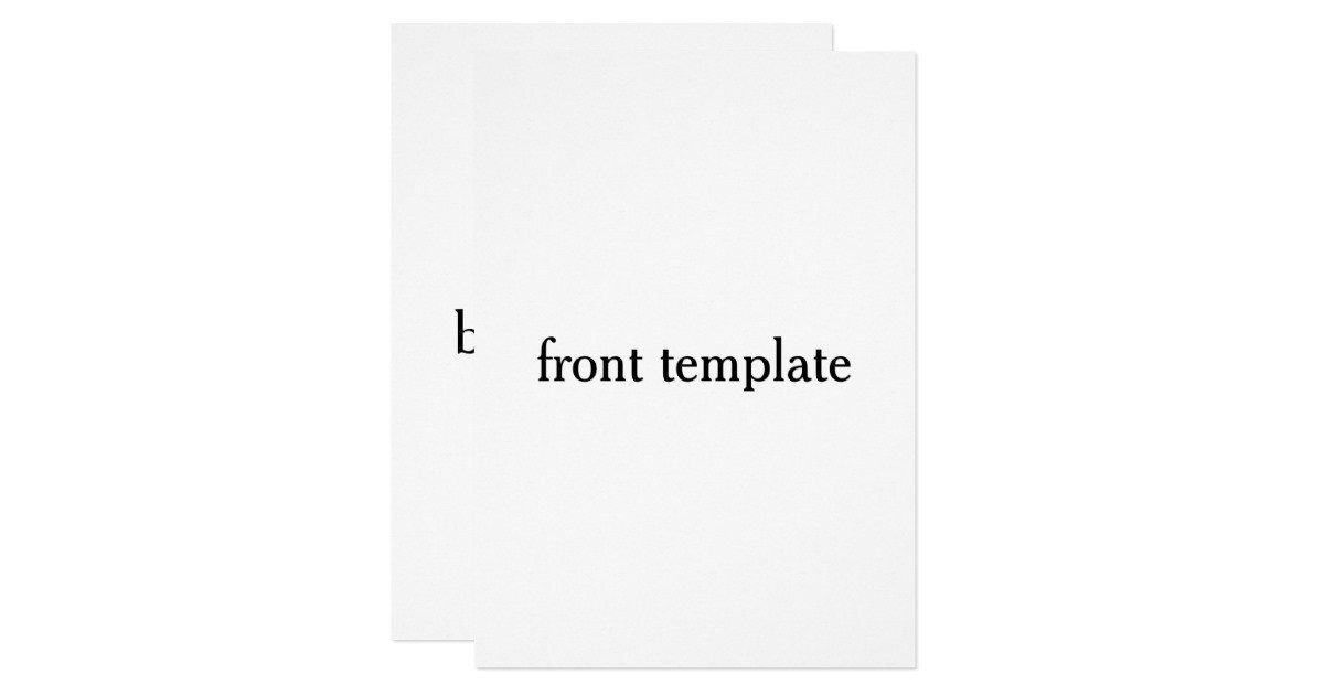Two Sided Postcard Template Double Sided Template Card Postcard Template Booklet Template Letter Template Word