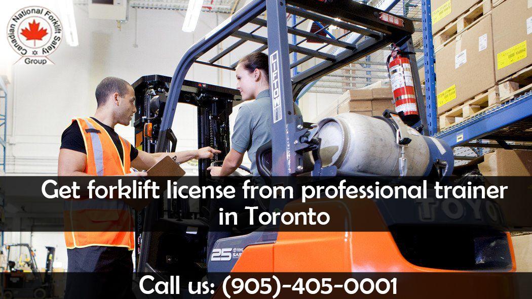 Cn forklift training center provides training and