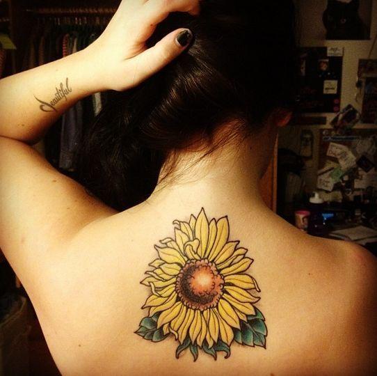 Photo of 45 Inspirational Sunflower Tattoos –