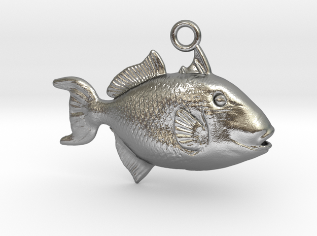 Trigger Fish Pendant