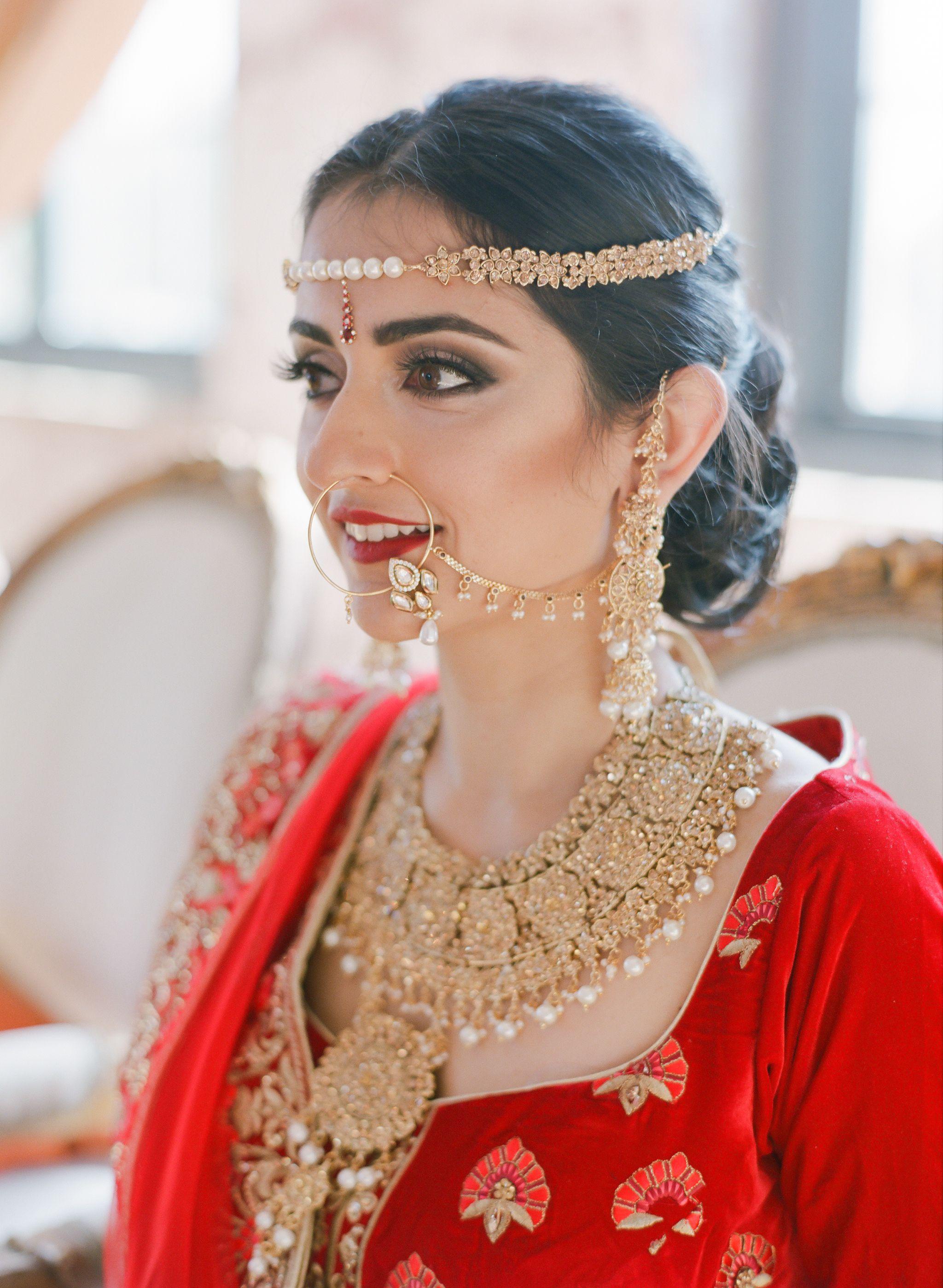 Hair + Makeup Silhouette on Site Wardrobe Naiya Indian