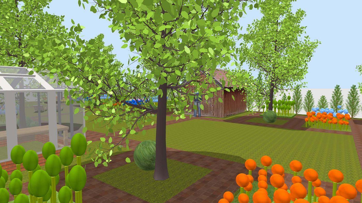 Sweet Home 3d Sweethome3d Garten Haus Bauen Haus Planung Haus