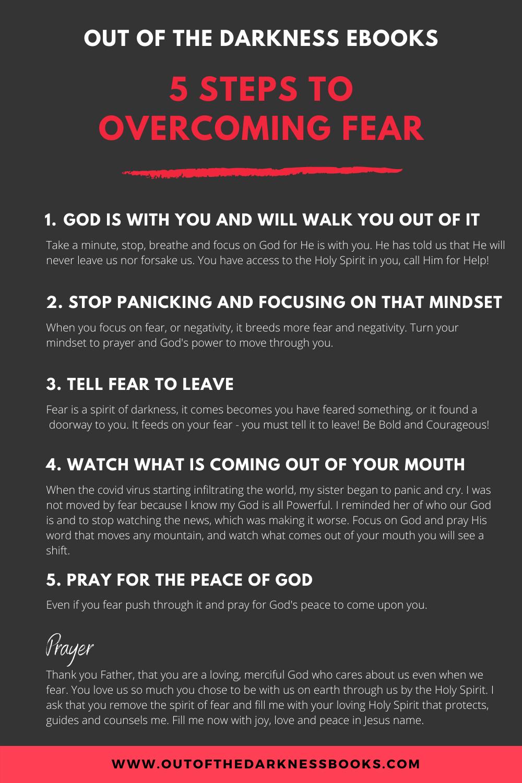 Overcome Fear This Halloween Ebook Prayer Quotes Spiritual Warfare Prayers Prayer Scriptures