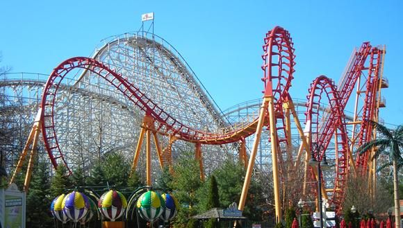 Thrill Rides Six Flags New England Theme Parks Usa Thrill Ride Road Trip Fun