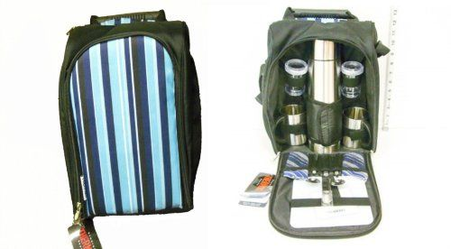 Special Offers - Thermos 2 Person Cooler Picnic Set - In stock & Free Shipping. You can save more money! Check It (April 06 2016 at 10:55PM) >> http://campingtentsusa.net/thermos-2-person-cooler-picnic-set/
