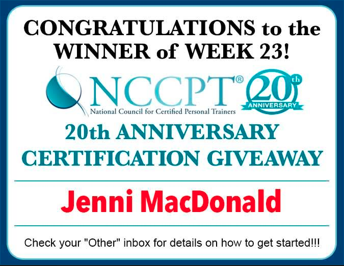 And this week\'s # winnccptcertification winner is....(have you ...