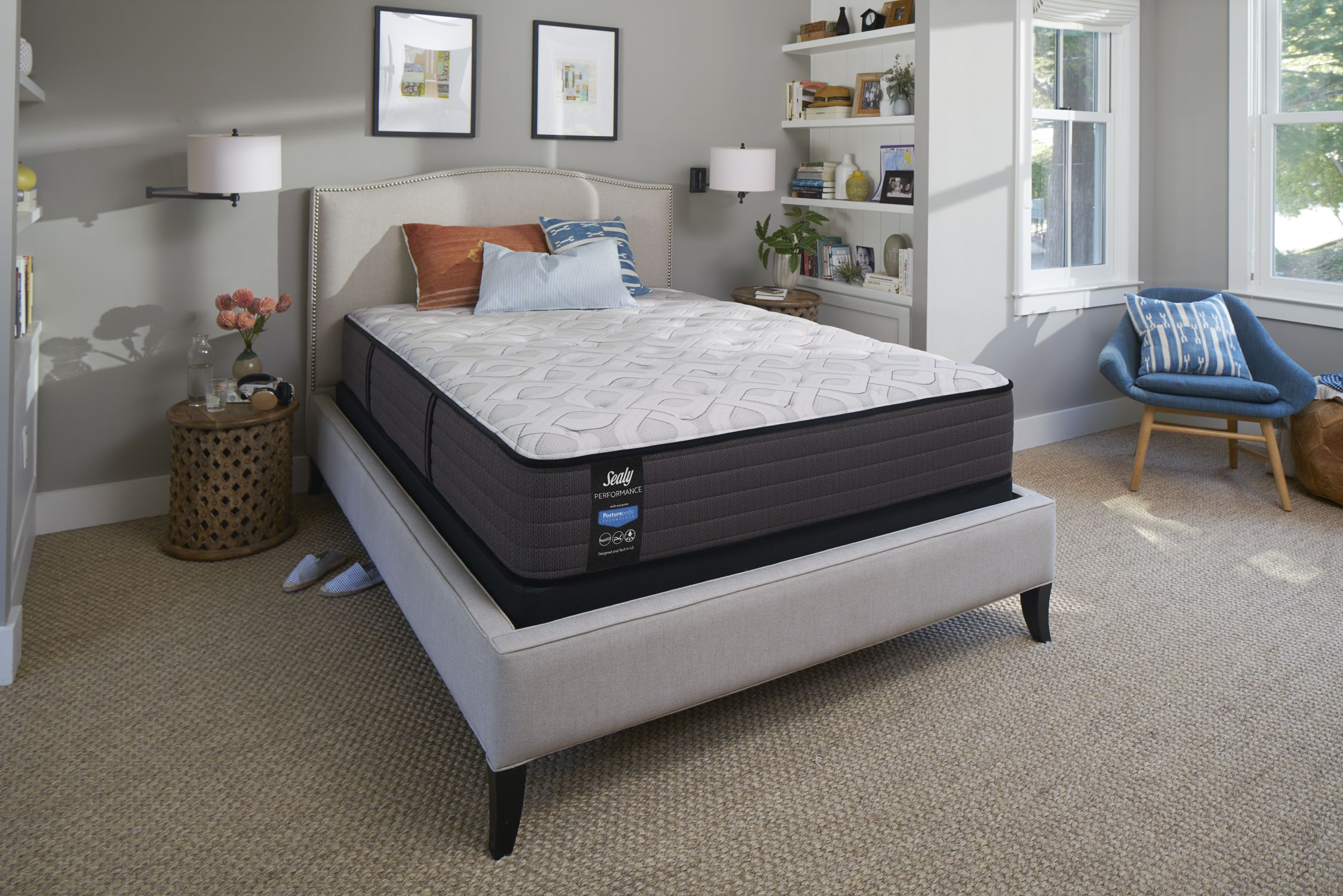 sealy response performance 12 5 inch firm tight top mattress in