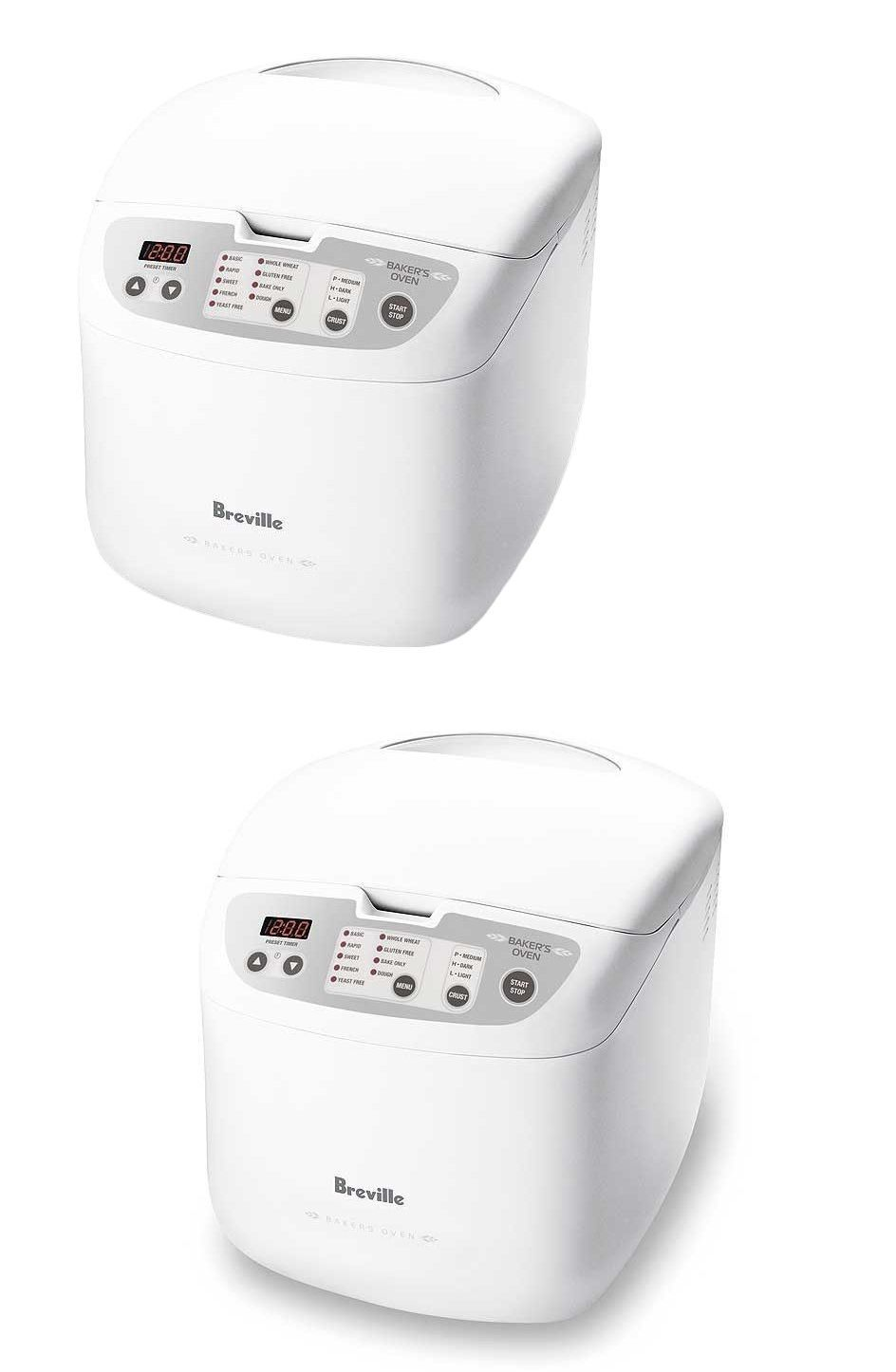 Bread Machines 20669 Breville Bbm100wht The Bakers Oven Bread Maker S Buy It Now Only 59 On Ebay Bread Machines Bakers Oven Bread Maker Bread Machine