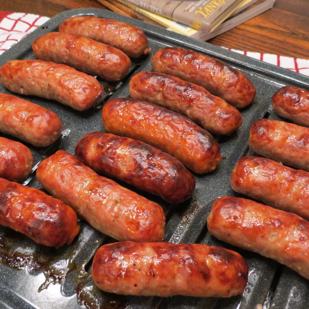 Too Cold to Grill Outside? Try Italian Sausages Baked in