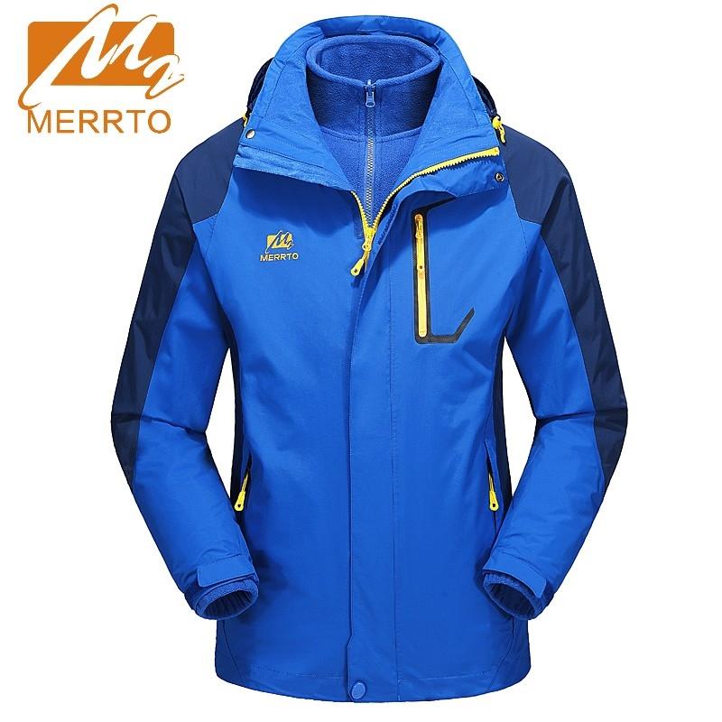 77.72$  Watch now - http://ali125.worldwells.pw/go.php?t=32753193326 - 2017 Merrto Outing Camping Hiking Sport Jacket Fleece Windbreaker Coat For Men Quick Dry Waterproof Jacket Free Shipping MT19016 77.72$
