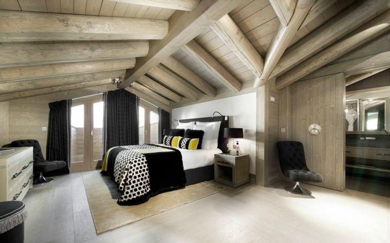 Bellissima camera da letto e idea per come arredare una mansarda