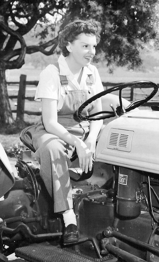 """Judy in """"Summer Stock"""""""