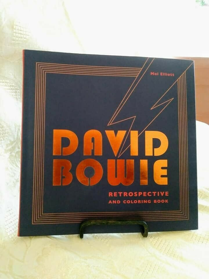 BRAND NEW David Bowie Coloring Book в 2020 г | Книжка ...