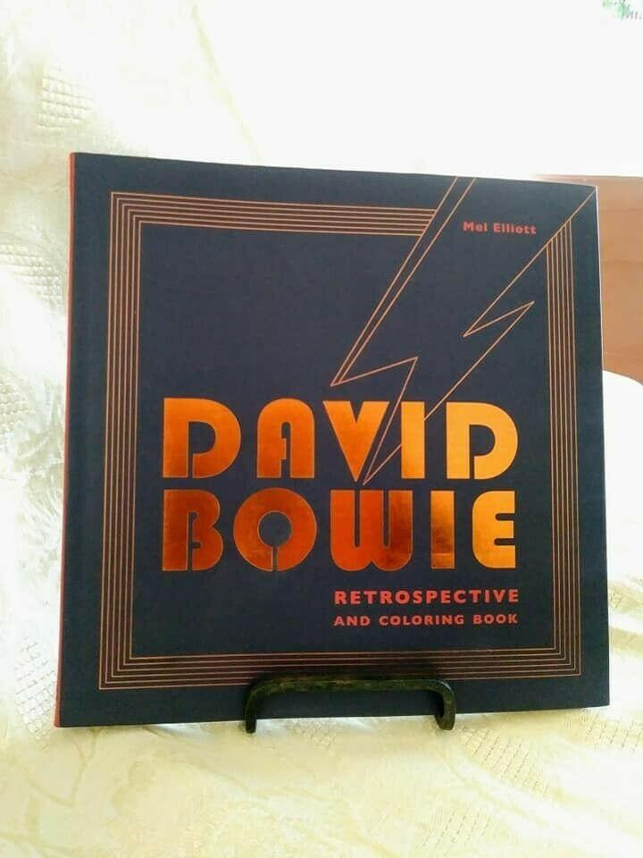 BRAND NEW David Bowie Coloring Book в 2020 г   Книжка ...