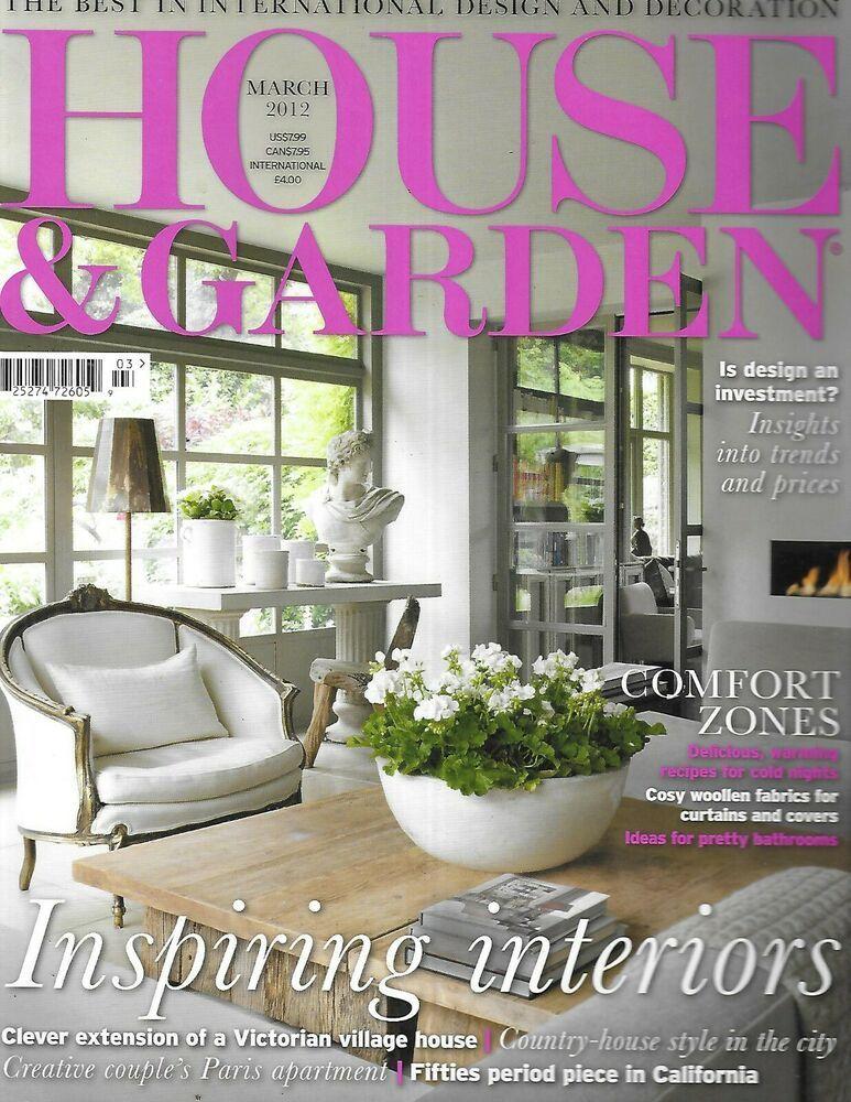 House And Garden Magazine Inspiring Interiors Victorian Village Home Paris 2012 Ebay In 2020 Victorian Village Interior Inspiration Country Style Homes