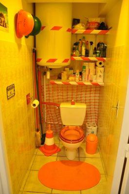 en chantier les toilettes vous avez des wc originaux. Black Bedroom Furniture Sets. Home Design Ideas