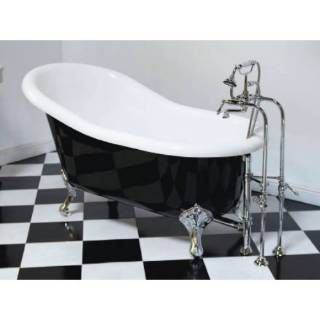 Check Out The Sign Of The Crab P0965 Acrylic Clawfoot Tub 60