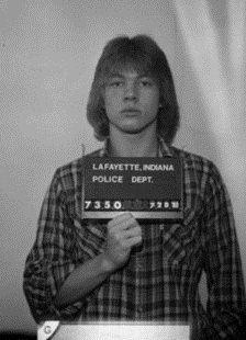 70s 80s Axl Rose LaFayette Indiana Police Dept Mug Shot | 70s ✌️ i