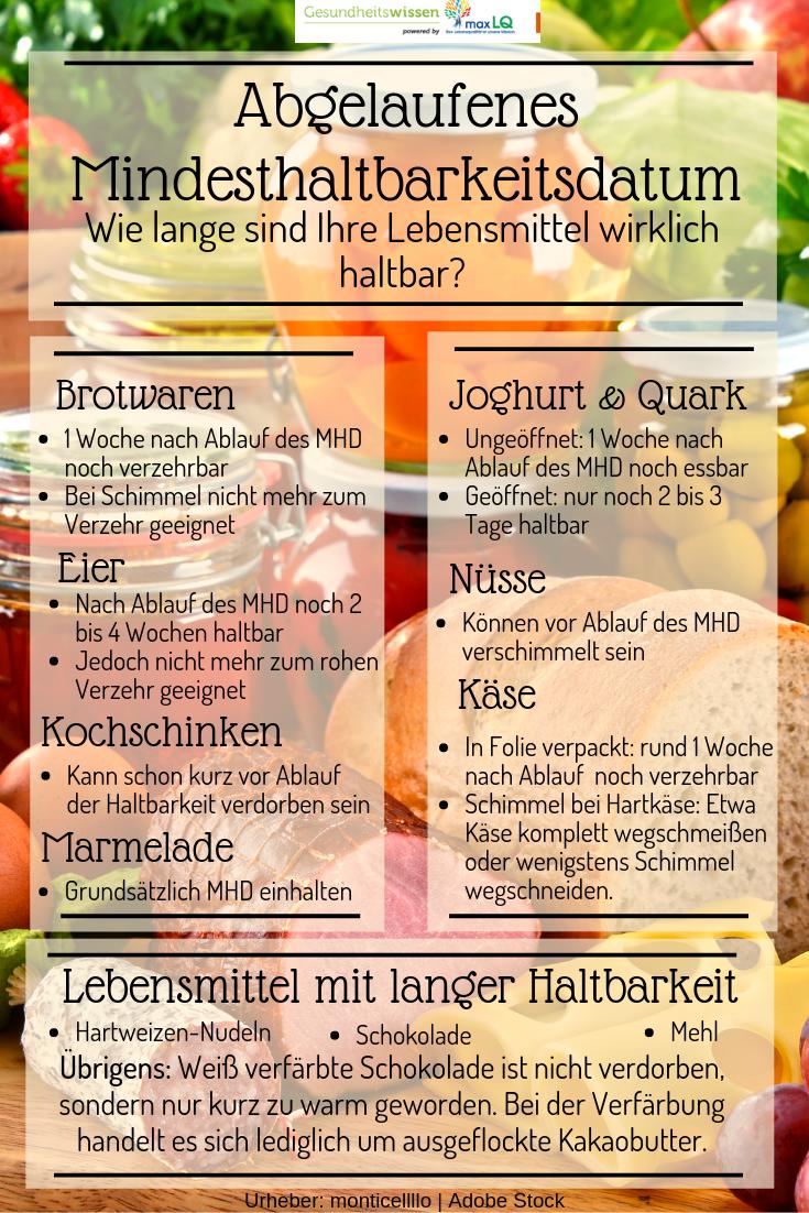 Lebensmittel Die Lange Haltbar Sind