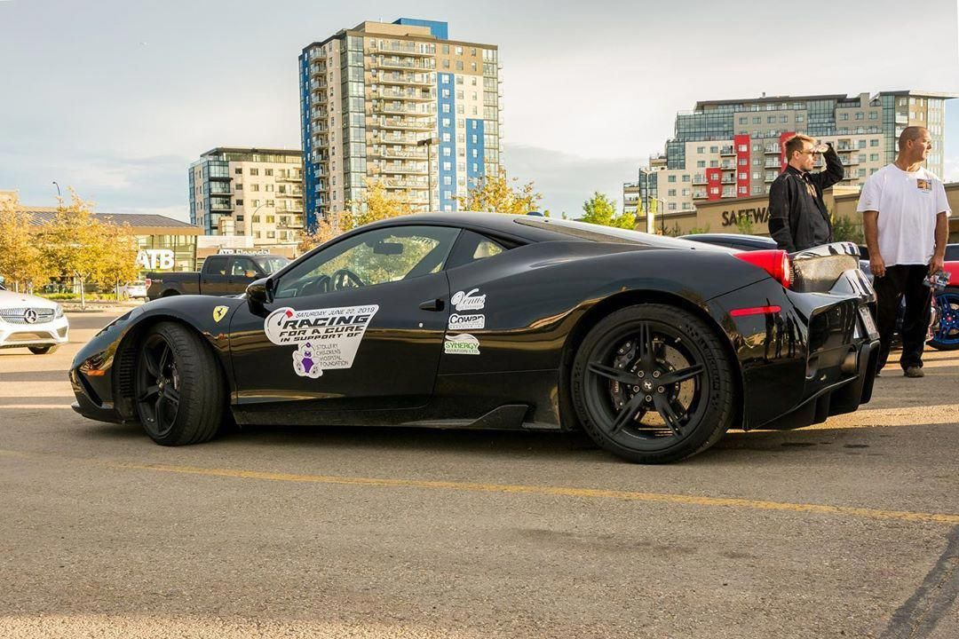 Beautiful Ferrari 458 Speciale @eurocarsandcoffeeyeg  #yegcars #yeg #ca