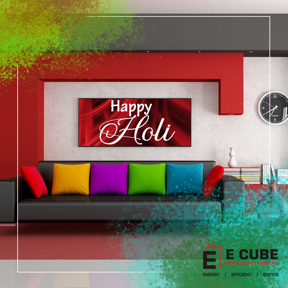 Hope the canvas of your life gets painted with the most beautiful colors.  Have a safe and Happy Holi!!  #holi #happyholi #india #festival #holifestival #colors #colours #color #festivalofcolors #holifestivalofcolours #holihai #festivalofcolours #holifest #indianfestival #mumbai #colour #holiparty #festivalofindia #ecubedesignstudio #interiordesigning #architecture #archilover #decor #homedecor #interiordesigningfirm #interiordesign