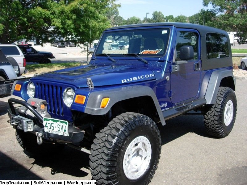 Jeeps For Sale And Jeep Parts For Sale 2005 Jeep Rubicon
