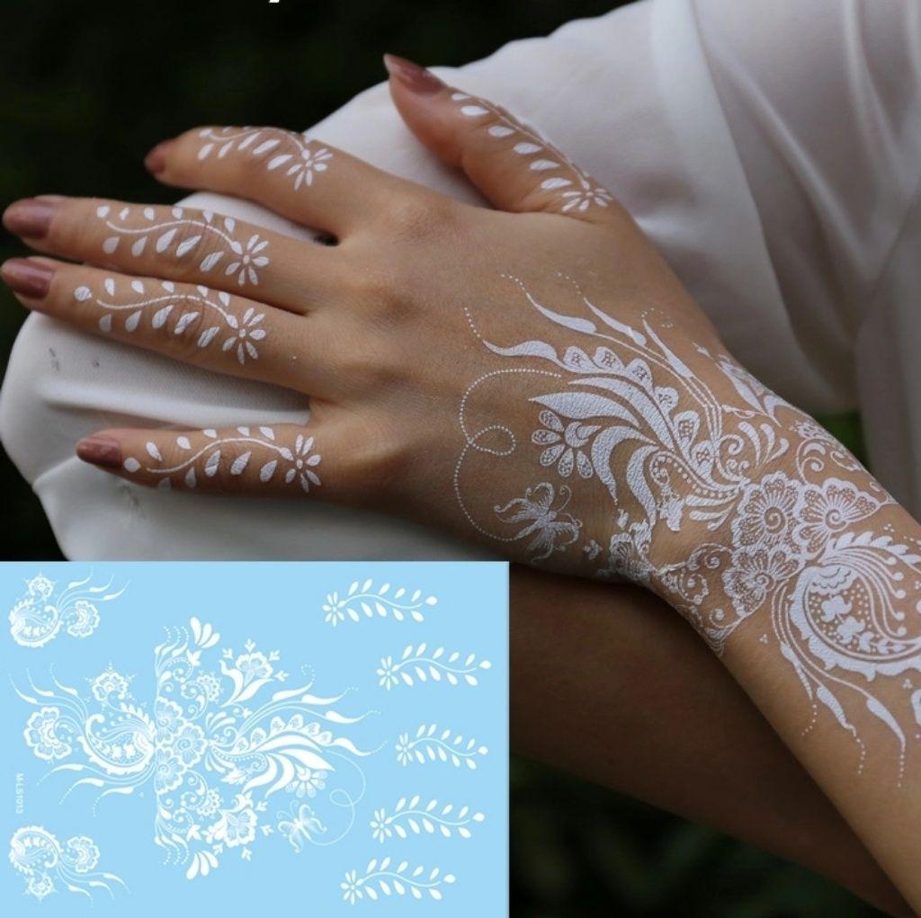 Tattoo sale white henna temporary tattoo white henna and products