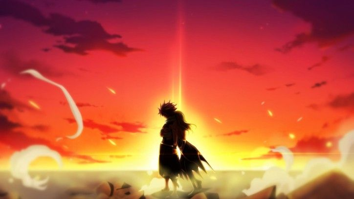 Natsu Dragneel In Dragon Cry The Second Fairy Tail Movie Natsu Fairy Tail Fairy Tail Movie Fairy Tail