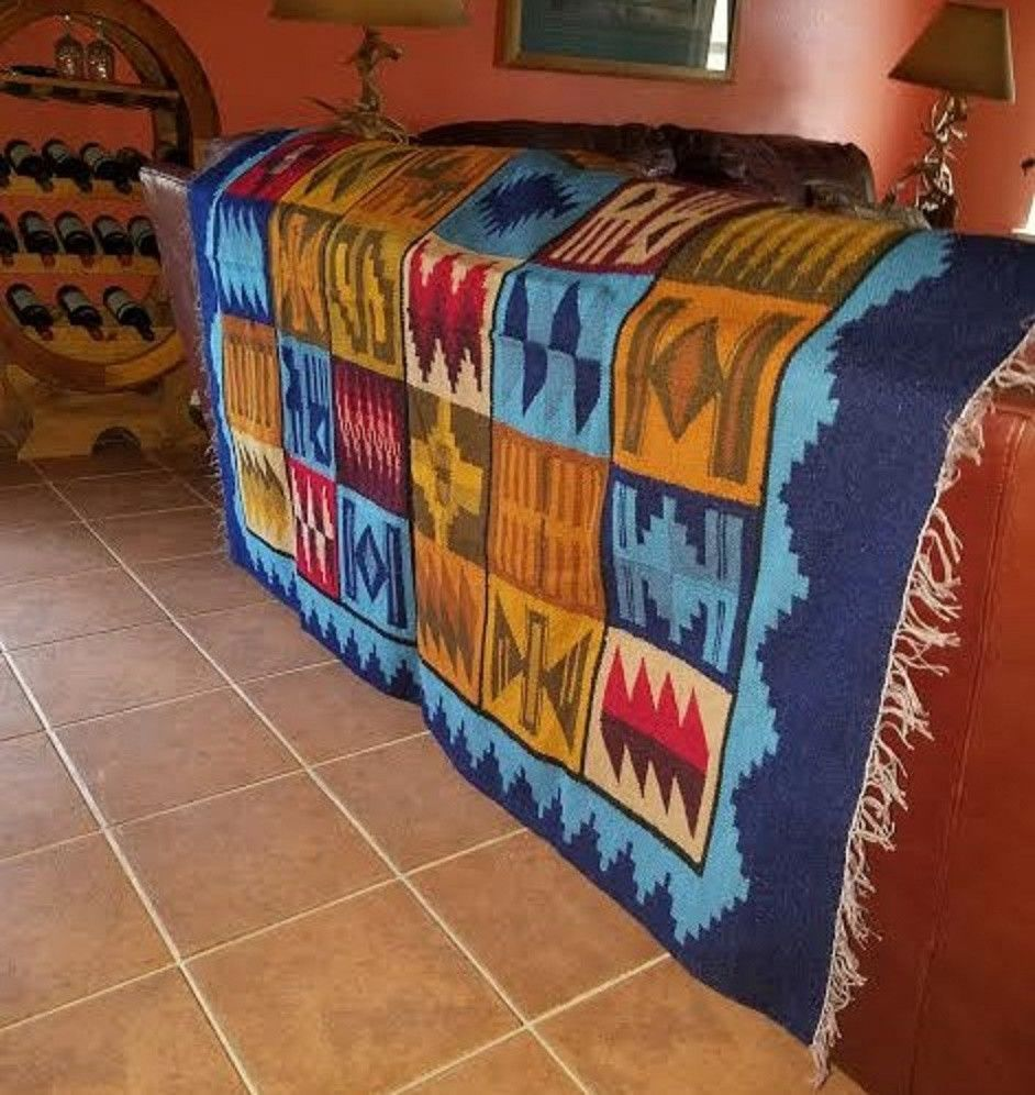 Andean Tapestry Cuzco Peru Decor by Aspenandes Size: 61 inch X 45 inch