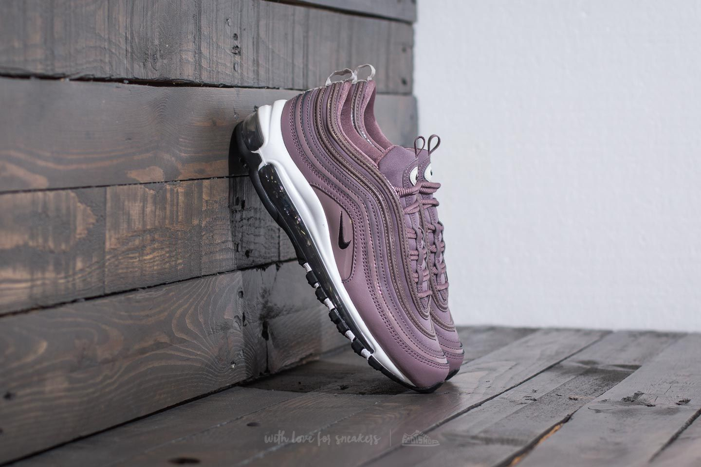 nike air max 97 trainers taupe grey light bone prm