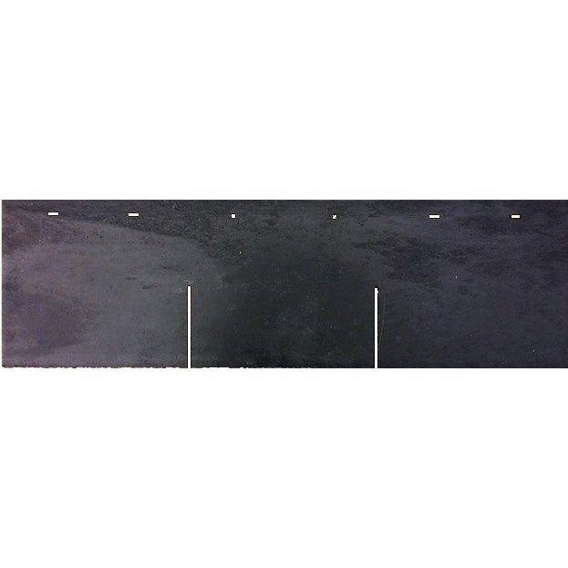Bardeau Lisse Composite Anthracite L 0 27 X L 0 9 M Lisse