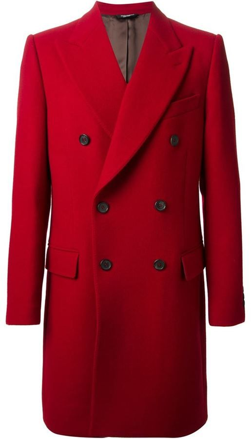 c2d21e6a9 Dolce & Gabbana double breasted coat on shopstyle.co.uk | G&O | Coat ...