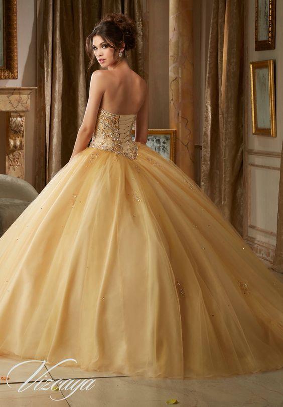Vestidos De 15 Con Tul 3 Vestidos Xv 15 Años Vestidos