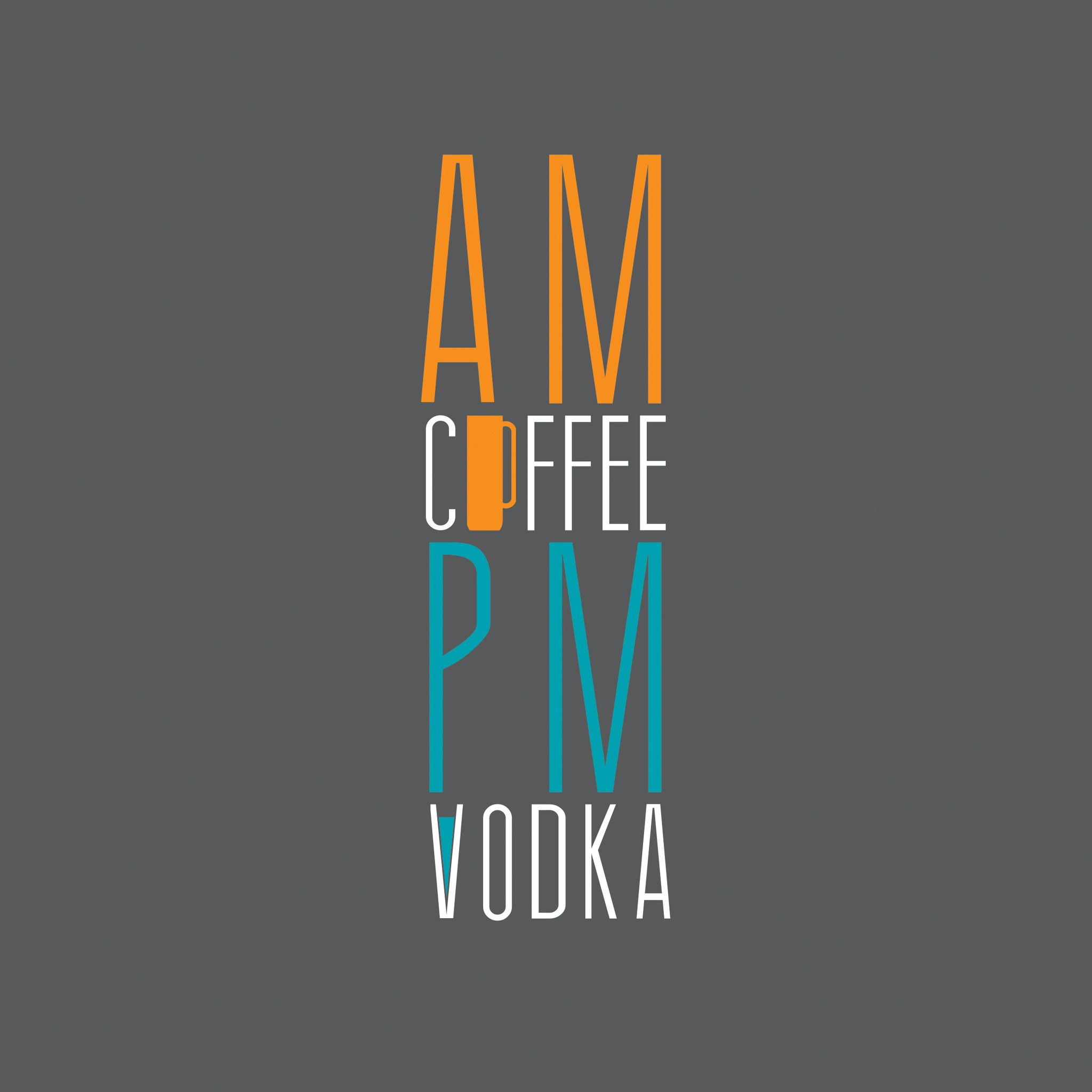 Wallpaper iphone vodka - Am Coffee Pm Vodka Ipad Wallpaper Hd Ipad Wallpaper