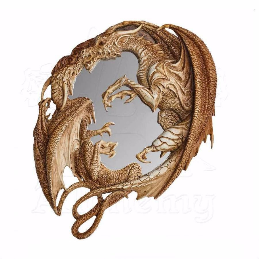 Miroir trompe l il alchemy gothic d corations gothique en 2019 miroir gothique miroir - Miroir trompe l oeil ...