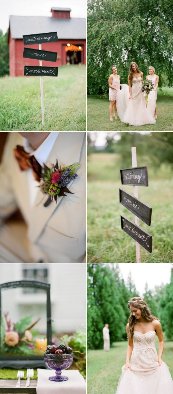 boutonniere, cute simple signs and lush berries