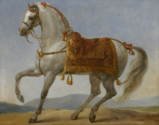 The arabe stallion of napoleon marengo napoleon horse for Napoleon horse painting