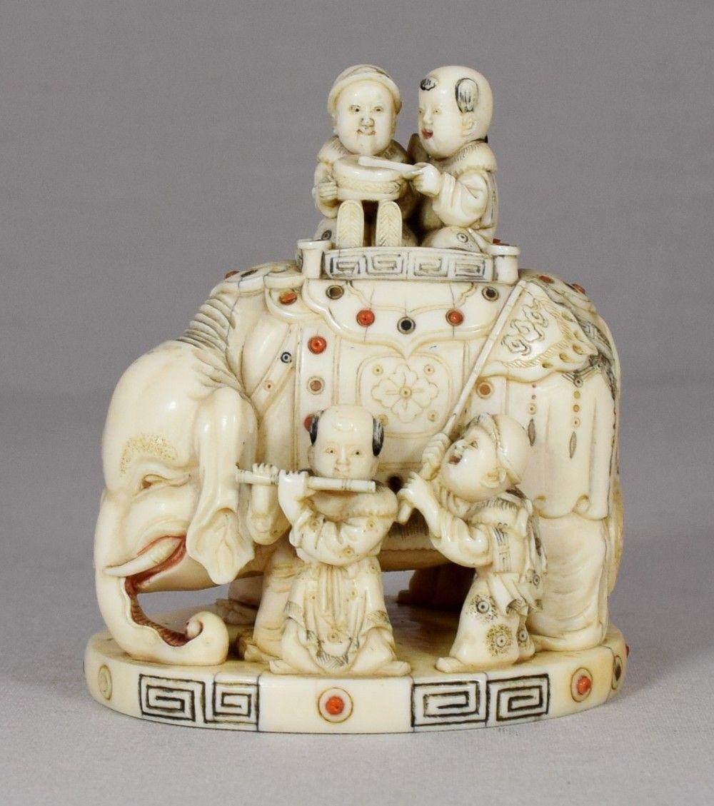 Carvings elephant for sale ivory Craigslist seller