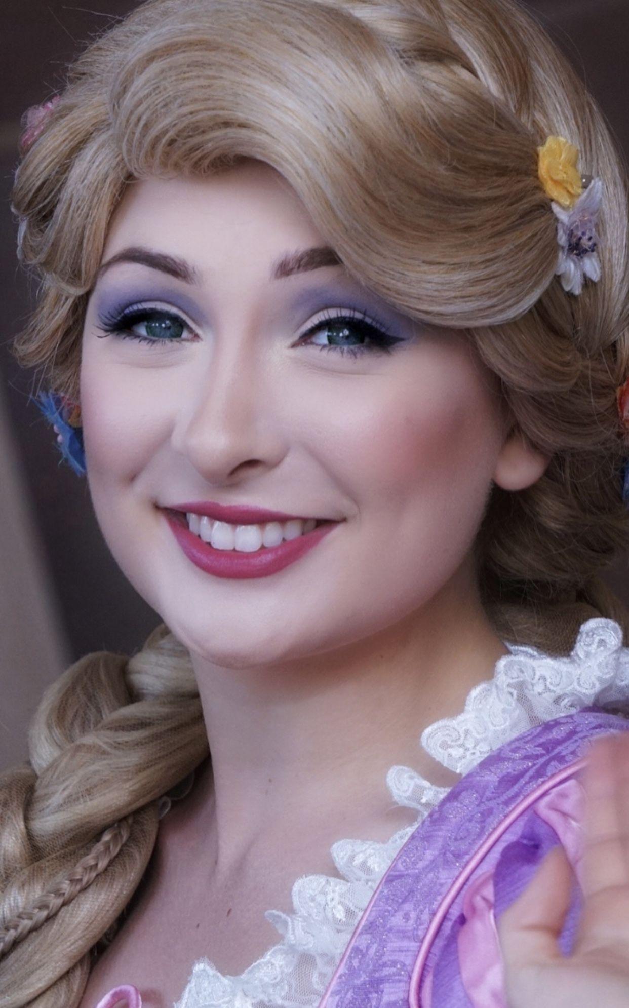 Pin By Elizabeth Hope On Disneyland Characters Disney Hair Rapunzel Makeup Princess Makeup