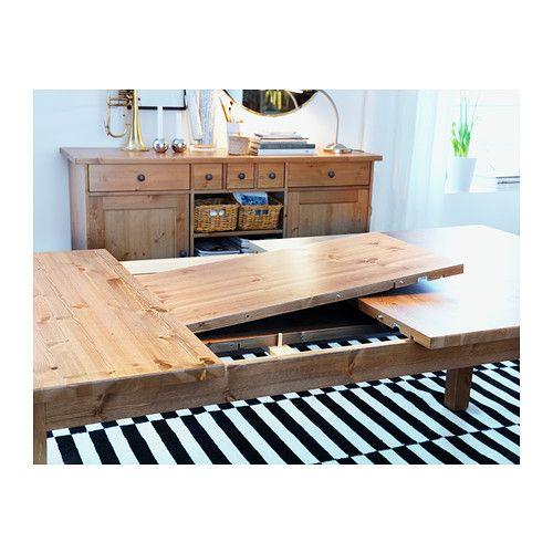 STORNÄS Ausziehtisch IKEA Ausziehbarer Esstisch Mit 2 Zusatzplatten; Bietet  Platz Für 6 10 Personen. Größe Des Tisches Je Nach Bedarf Anpassbar.