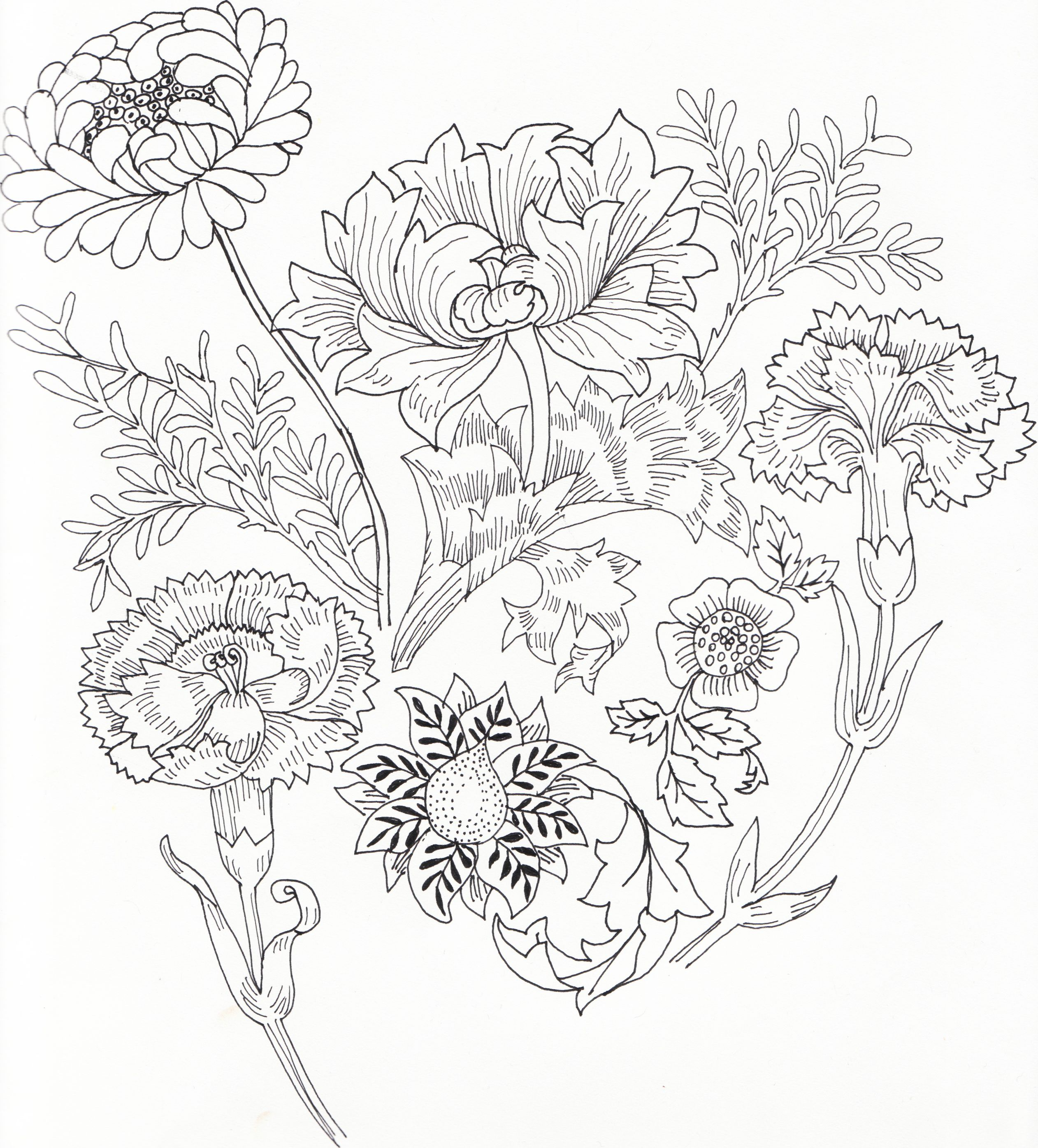 william morris embroidery - Google Search … | Embroidery | Pinte…