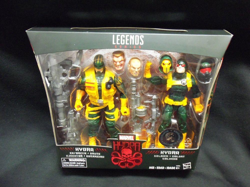 Marvel Legends Hydra 2-Pack Enforcer and Soldier TRU EXCLUSIVE