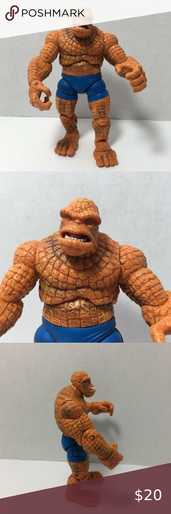 The Thing Marvel 2006 6 5 Articulated Fantastic 4 In 2021 Toy Story Figures Marvel Toys Funko Pop Star Wars