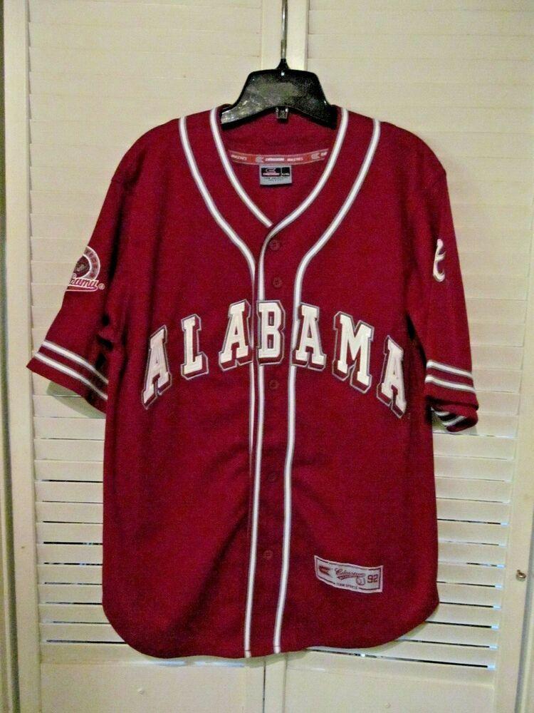 Alabama crimson tide colosseum size xl stitched baseball