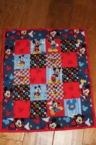Mickey Mouse Quilt Sewing Pinterest Mickey Mouse
