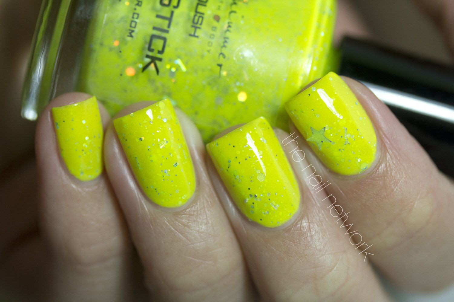 Glow Stick Glow In The Dark Neon Yellow Nail Polish by KBShimmer ...