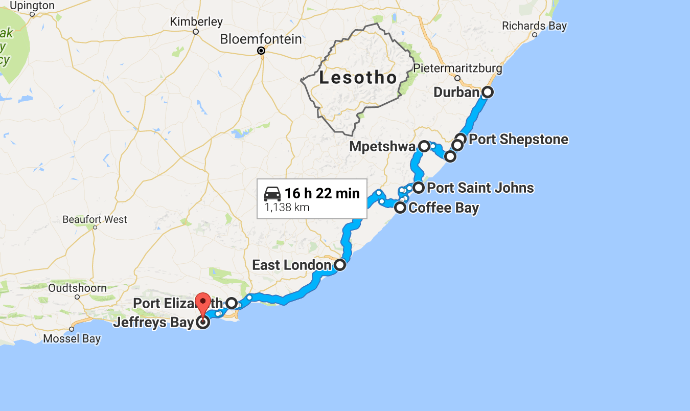 Google maps south africa road maps pinterest durban south africa port elizabeth and south - Port elizabeth south africa map ...