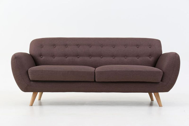 Amazing George Mason Coeval Tufted 3 Seater Lounge Sofa Buy Machost Co Dining Chair Design Ideas Machostcouk