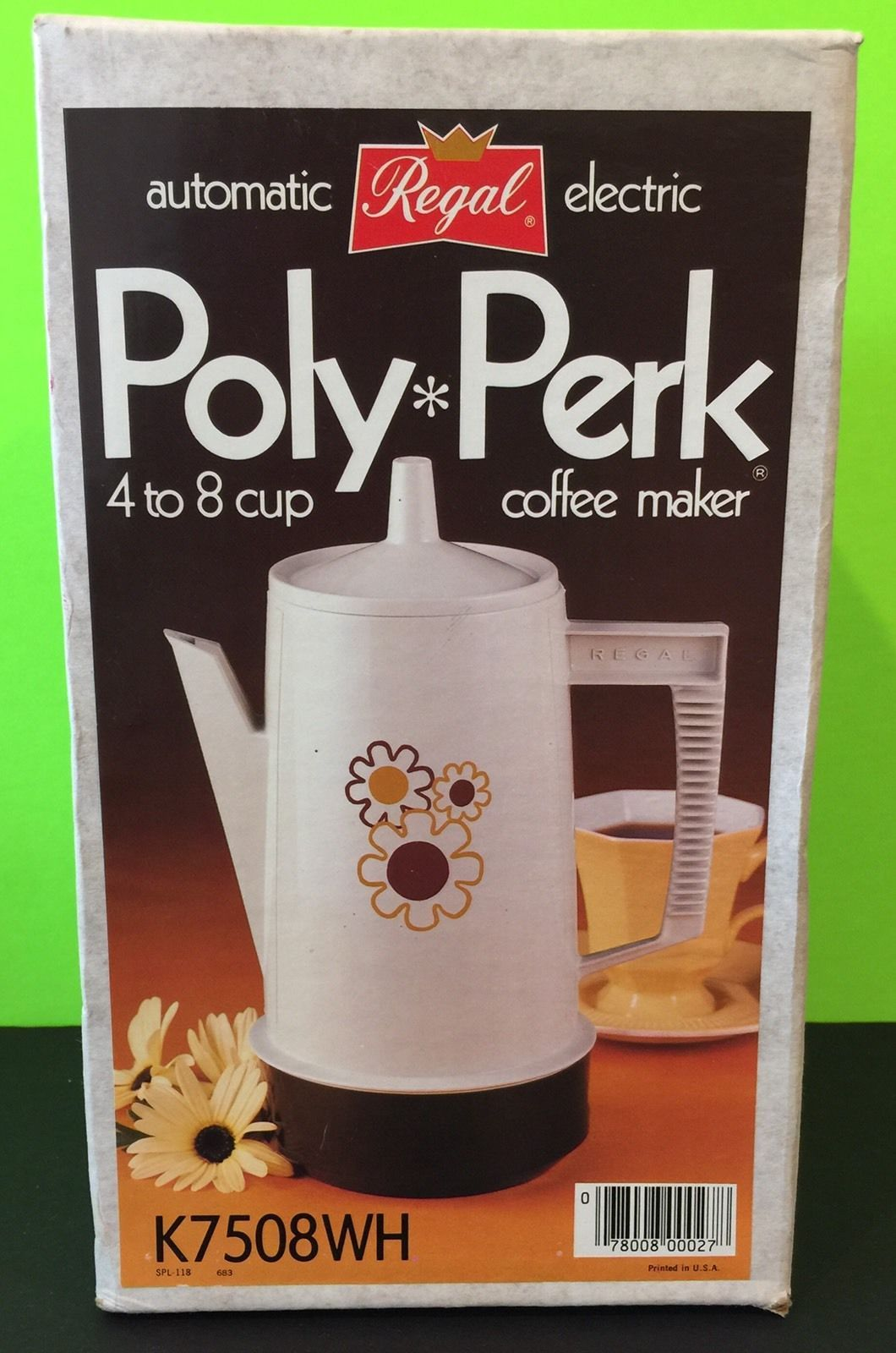 Brand new Regal PolyPerk 48 cup coffee maker, New In